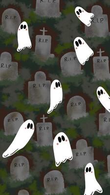 Graveyard iPhone Wallpaper