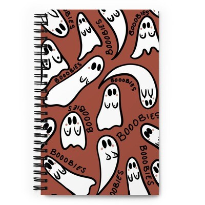 Ghost Boobies Notebook