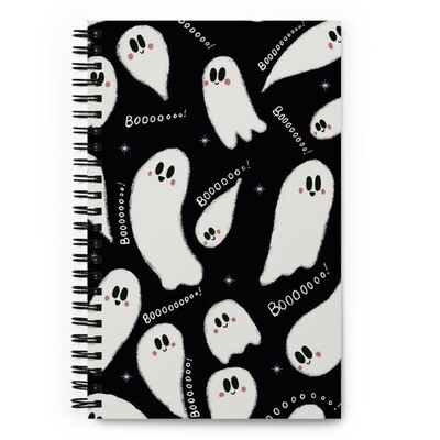 Spoopy Ghost Notebook