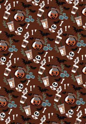 Pumpkin Spice iPhone Wallpaper
