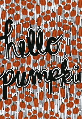 Hello Pumpkin iPhone Wallpaper