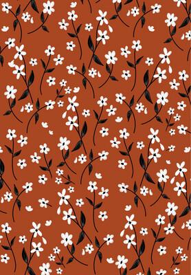 Autumn Floral iPhone Wallpaper