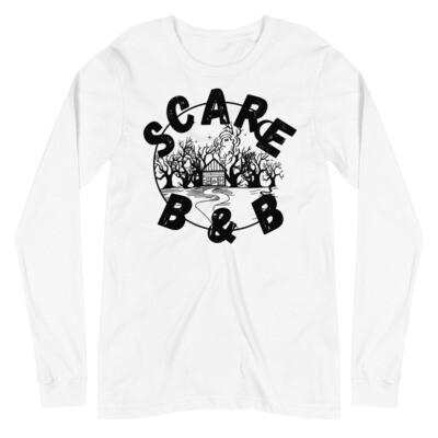 Scare B & B Longsleeve (Unisex) - White