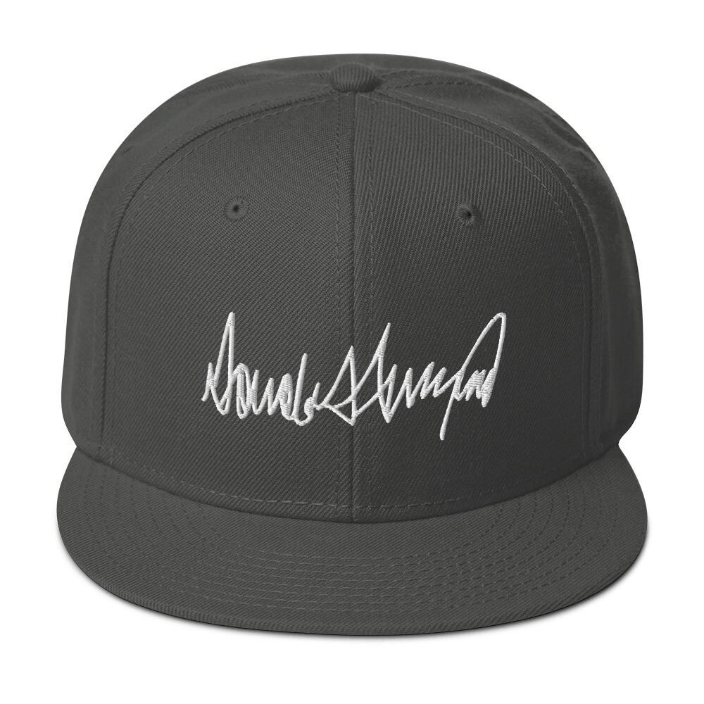 Donald Trump Signature  - Snapback Hat