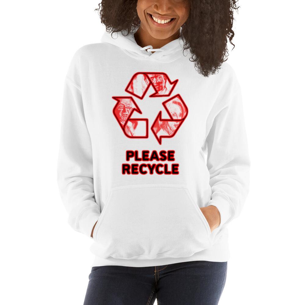 Recycle Pelosi, Shumer, Schiff Unisex Hoodie