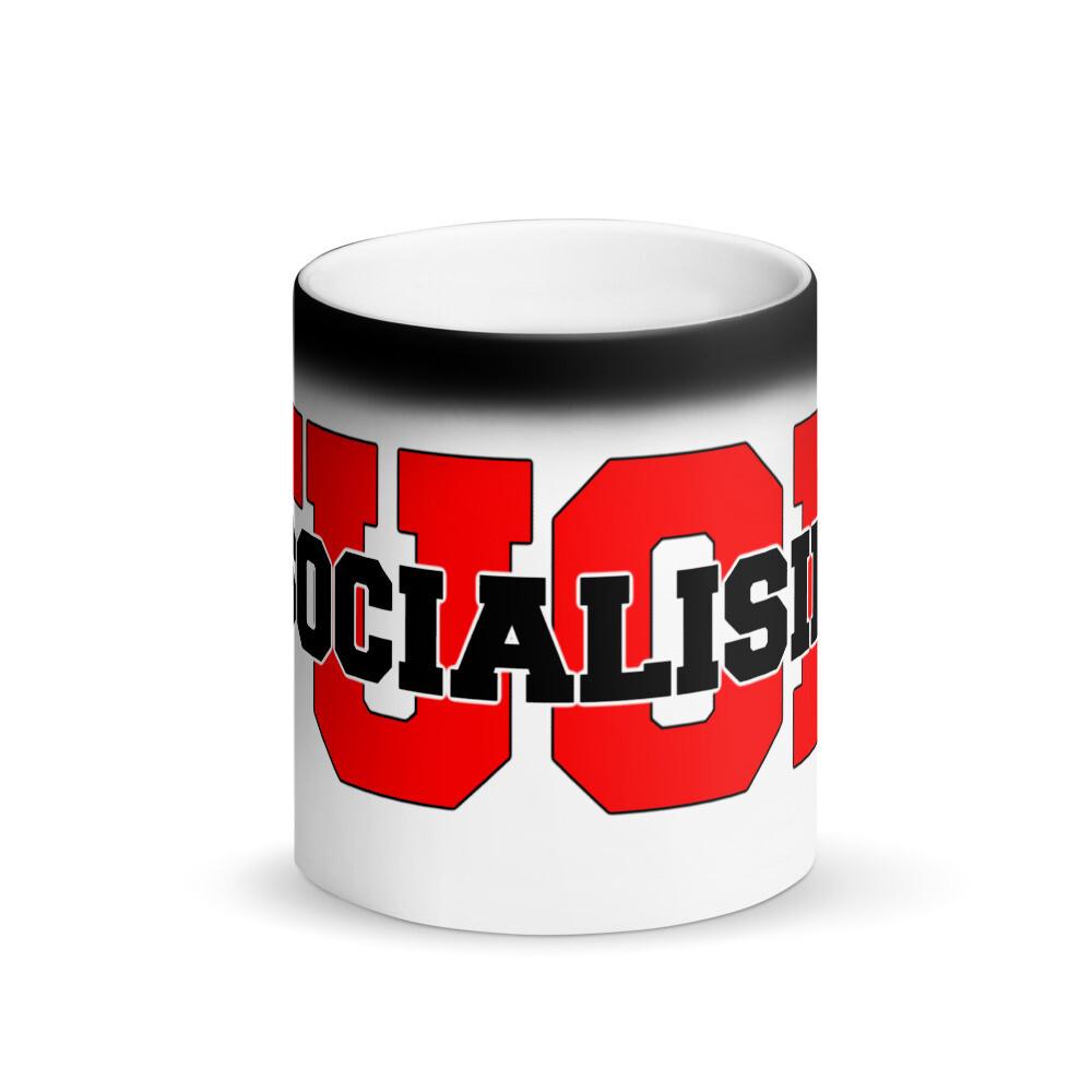 F$&K Socialism - Matte Black Magic Mug