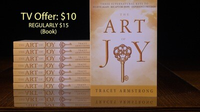 Art of Joy book special TV offer