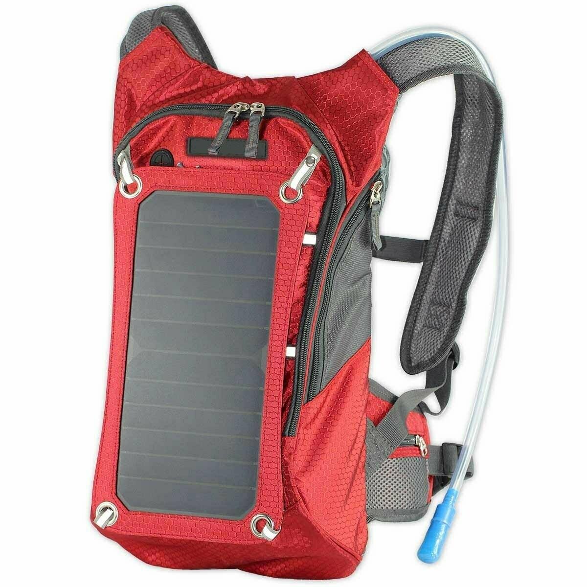 XTPower Xplorer Hiker 8 Red | Solar Backpack