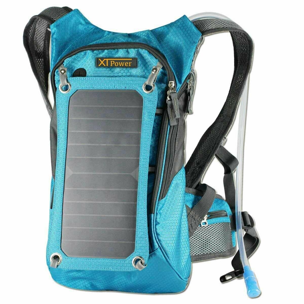 XTPower Xplorer Hiker 8 Turquoise Backpack with 7 Watt Removable Solar Panel