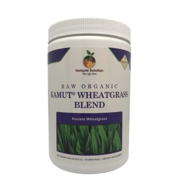 Raw Organic Kamut Wheatgrass Blend - 90 Day