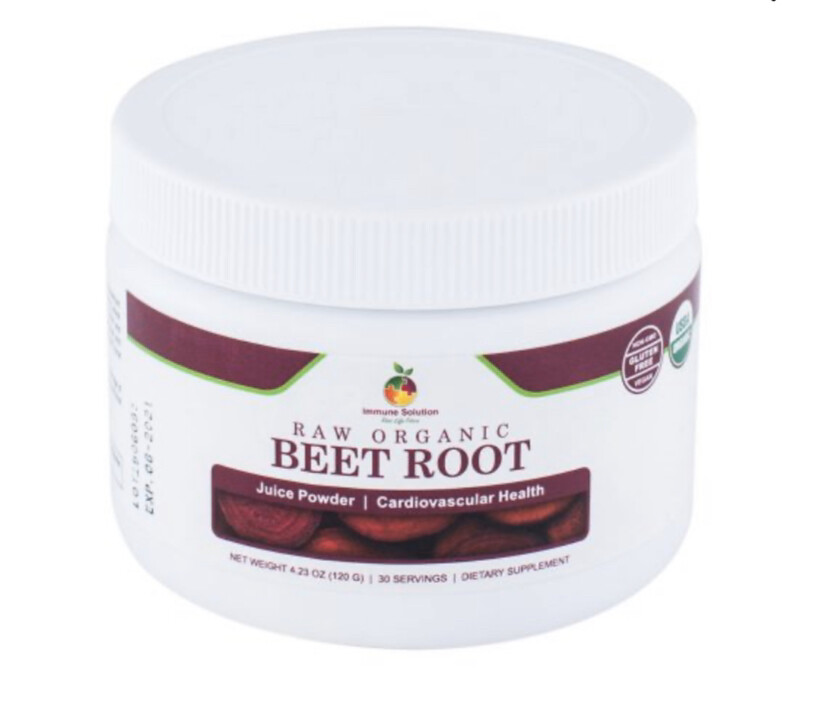 Beet Juice Powder, Raw organic 30 Serv
