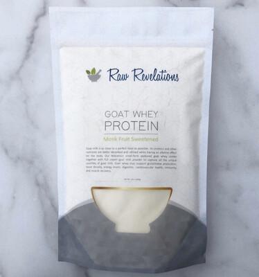 Goat Whey Protein 12 Oz