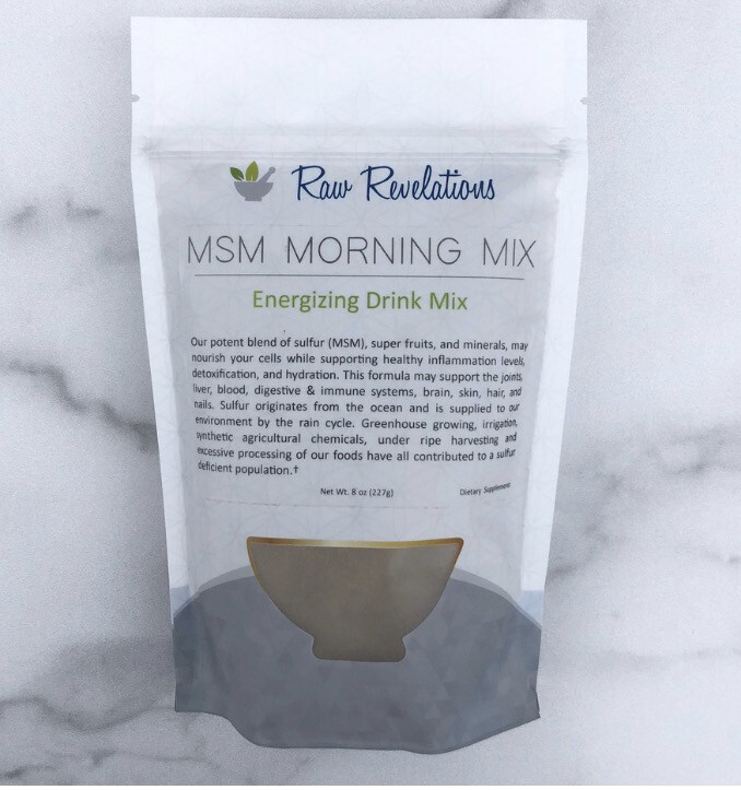 MSM Morning Mix  8oz
