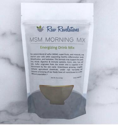 MSM Morning Mix  8oz