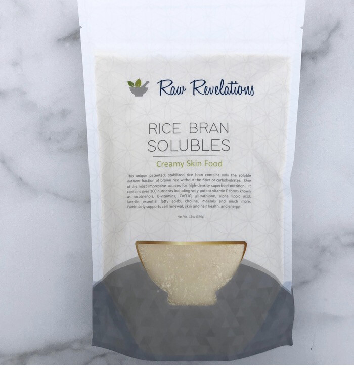Rice Bran Solubles 12oz