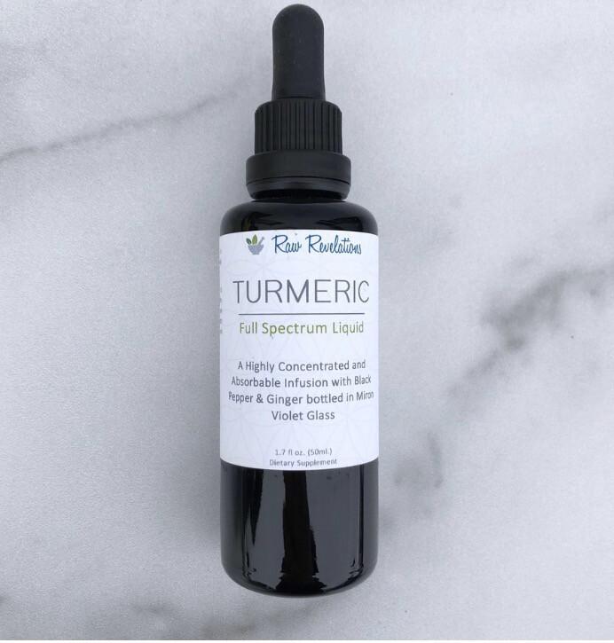 Turmeric Oil Full Spectrum 50ml
