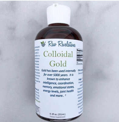 Colloidal Gold 8oz