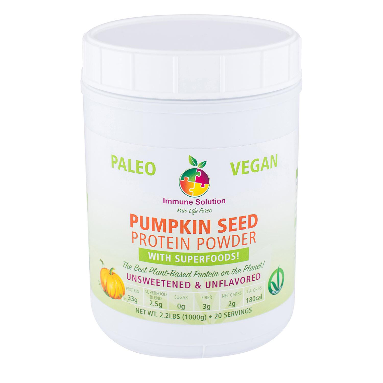 Pumpkin Seed Protein Powder w Superfoods (20 Serv)