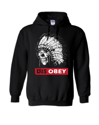 Disobey Skull hoodie