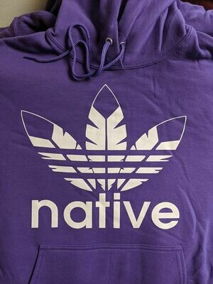 Native Style hoodie - purple limited edition