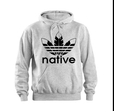 Native Style 2020 - sport grey hoodie