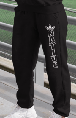 Native Style Sweatpants white ink