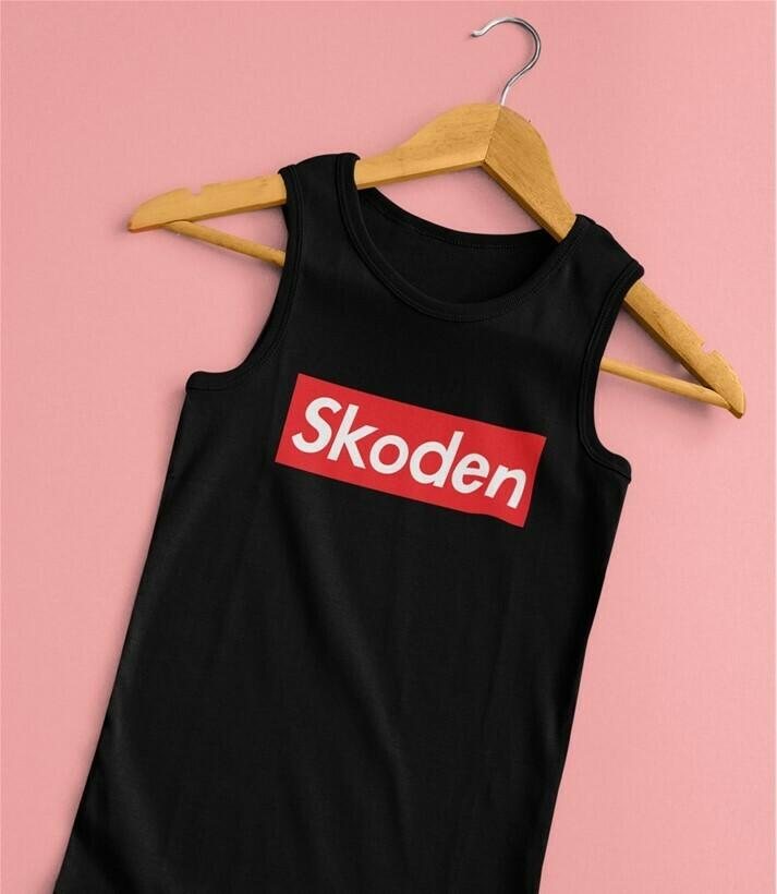 Skoden Skaterz - Women's fitted tank top