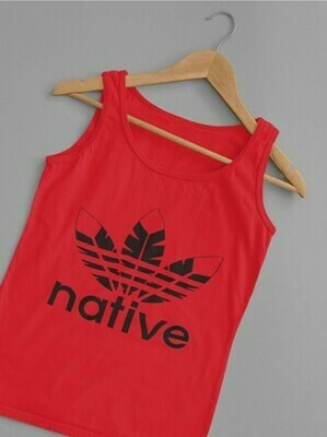 Native Style 2020 Tank Top - RED