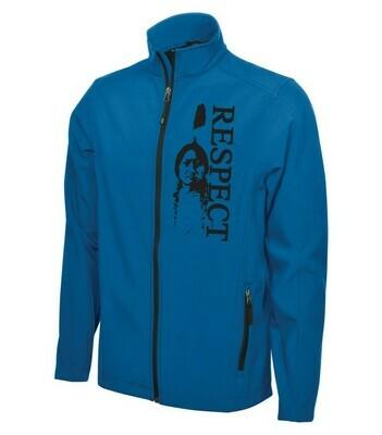 Sittingbull Respect  Soft Shell Jacket - Blue