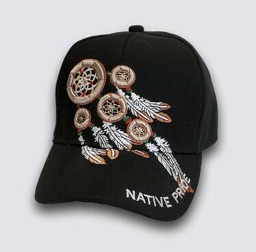 Native Pride Dreamcatcher hat - Black