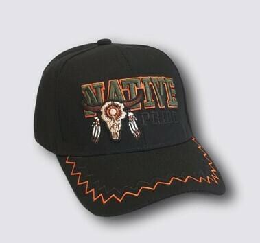 Native Pride buffalo hat - Black