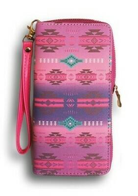 Infinity clutch wallet - Pink