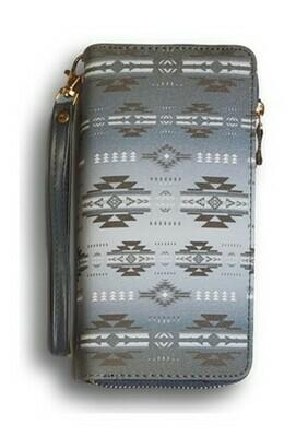 Infinity clutch wallet - Grey