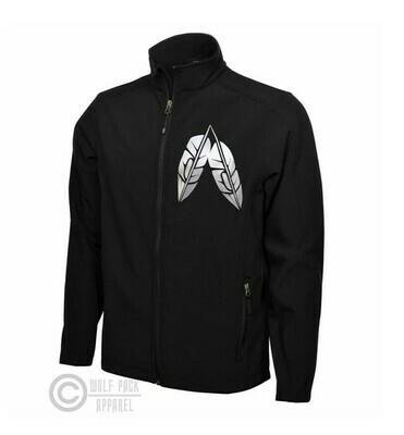 Coast Salish Feathers - Soft shell jacket