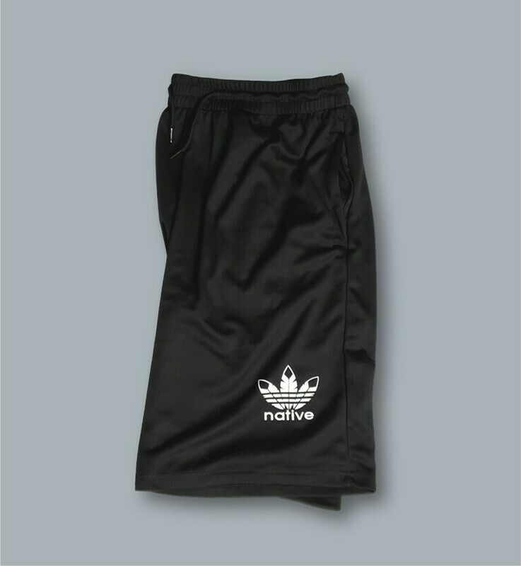 Native Style athletic shorts-  Available Aug.