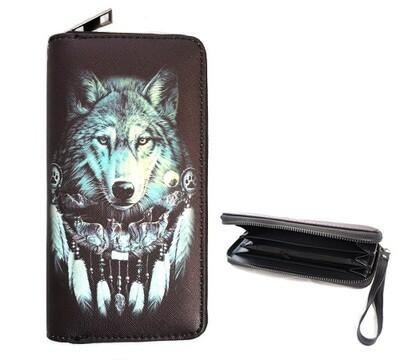 Wolves Den - clutch wallet
