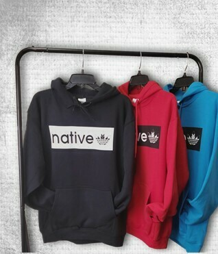 Native Style Skaterz - Red Hoodie