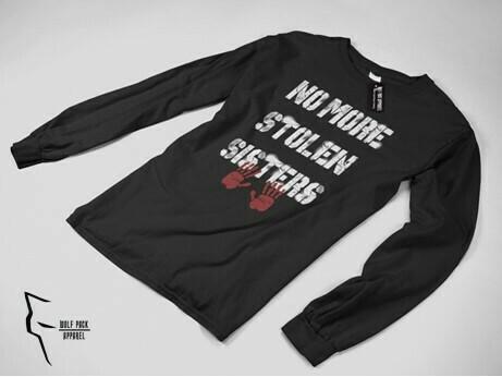 Impact - No More Stolen Sisters - Black Long Sleeve shirt
