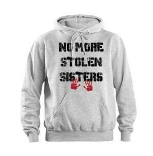 Impact - No More Stolen Sisters - Sport Grey hoodie