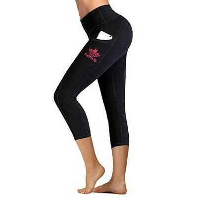 "Native Style 21"" cropped yoga pants - Everyday use"