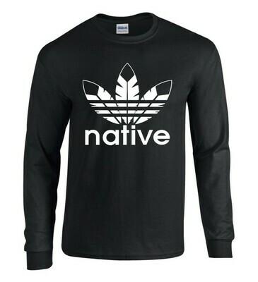 Native Style - Black Longsleeve shirt