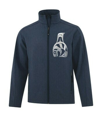 Killerwhale Softshell Jacket - Navy Heather