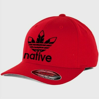 Native Style  Hat flex-fit red