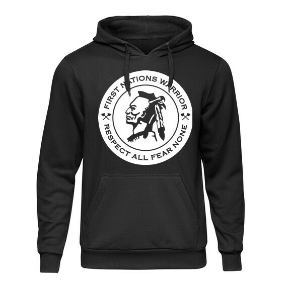 First Nations Warrior - Respect All Fear None Dri-Fit