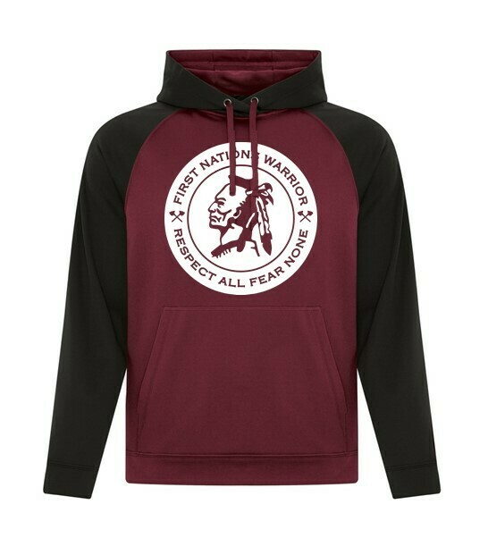 First Nations Warrior - Respect All Fear None Dri-Fit 2 tone