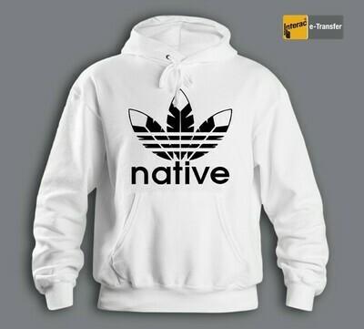 Native Style 2020 - white hoodie