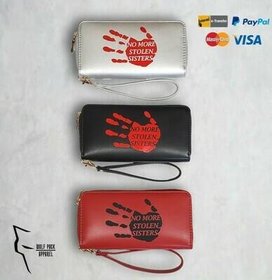 No More Stolen Sisters wallet