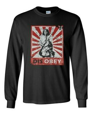 Disobey Geronimo - long-sleeve tee