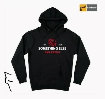 Something Else - hoodie w red