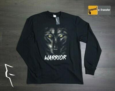 Warrior Wolf- Adult Long Sleeve Shirt